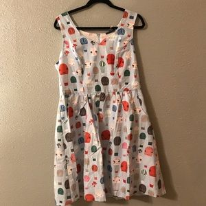 Hard to find ModCloth hot air balloon dress